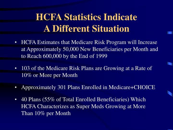 HCFA Statistics Indicate