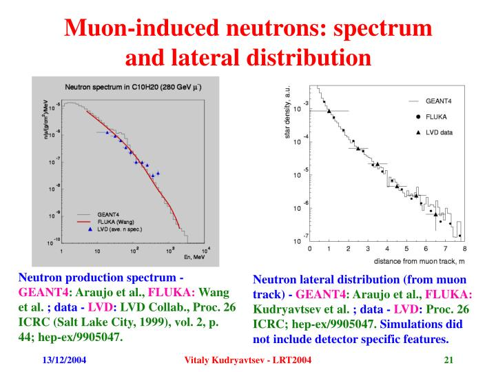 Muon-induced neutrons: spectrum and lateral distribution