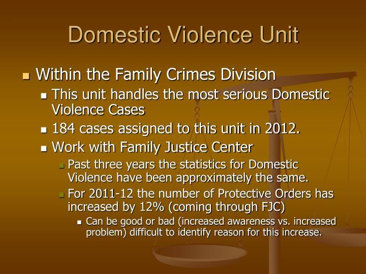 Domestic Violence Unit