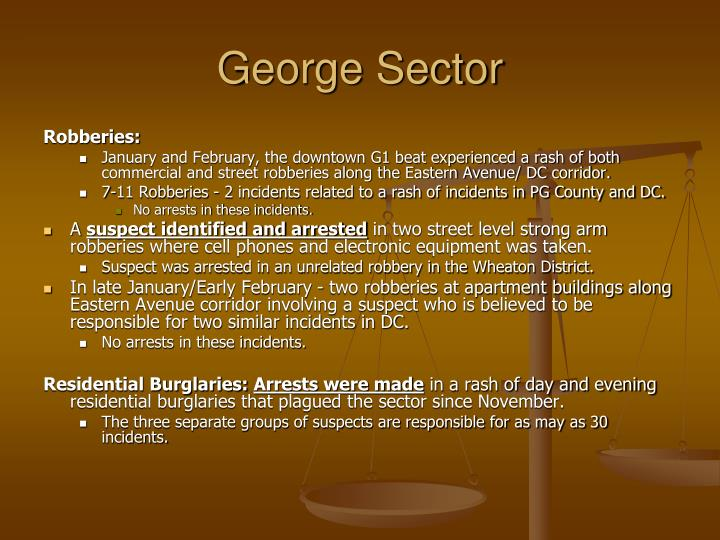 George Sector