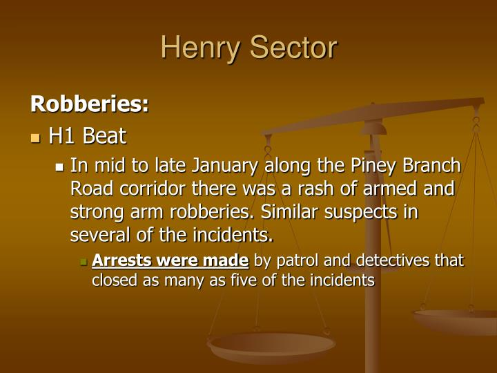 Henry Sector