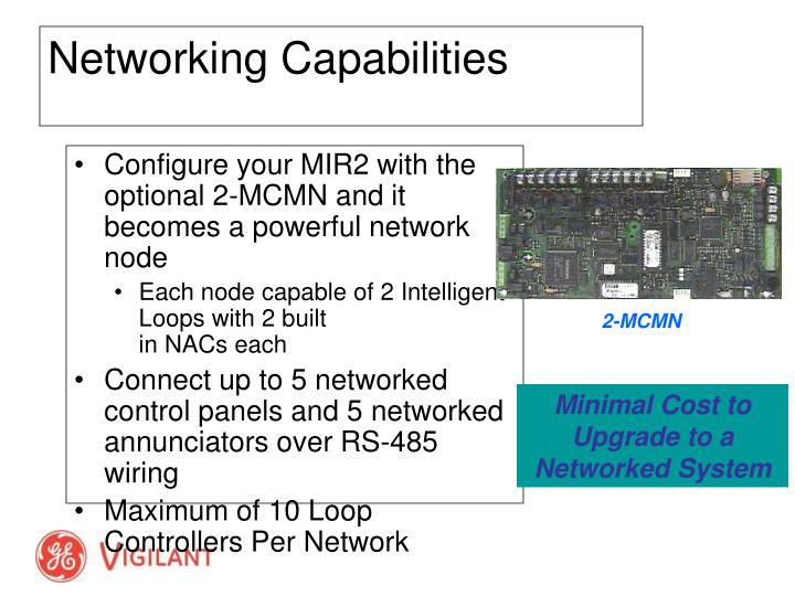 Configure your MIR2 with the optional 2-MCMN and it becomes a powerful network node