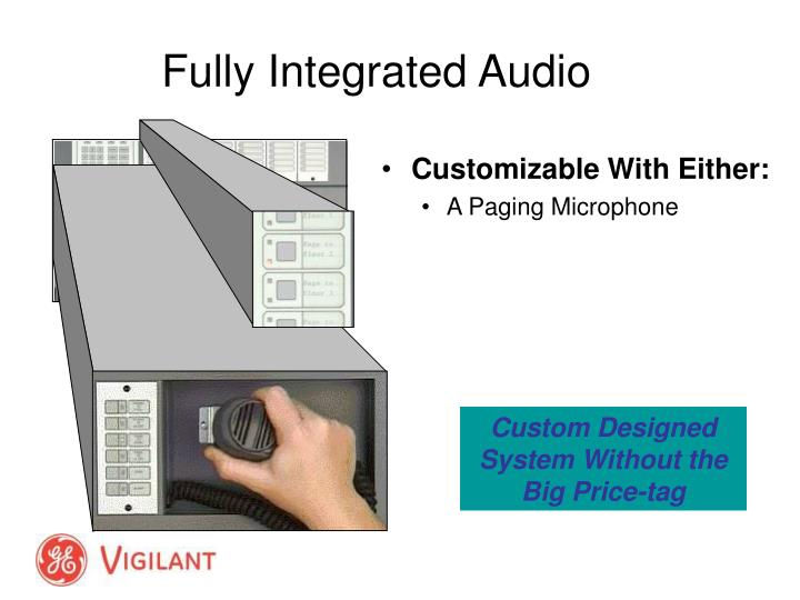 Fully Integrated Audio