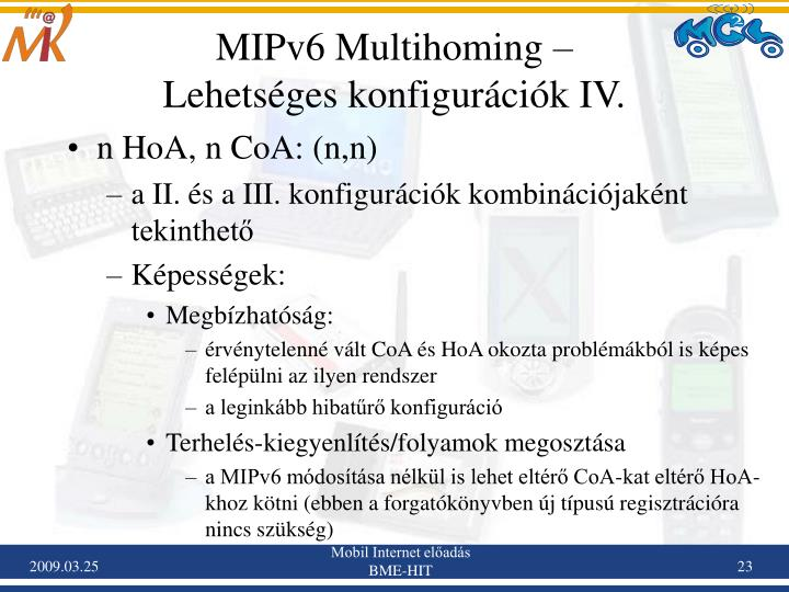 MIPv6 Multihoming –