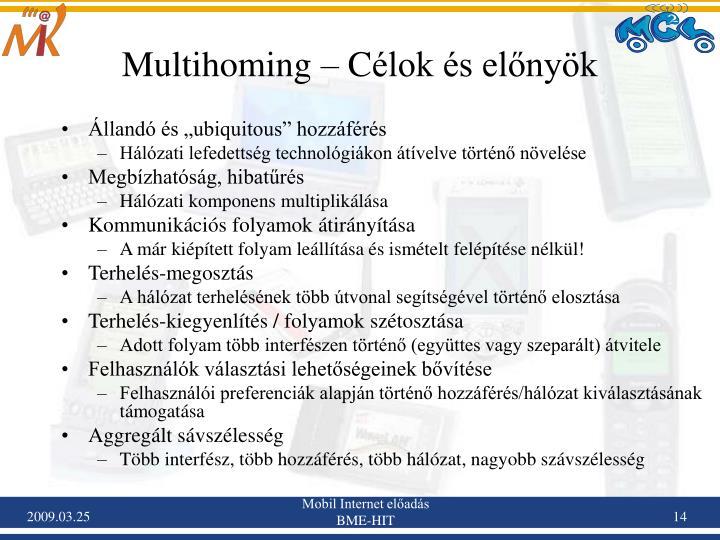 Multihoming –