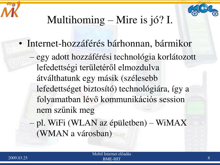 Multihoming – Mire is jó? I.