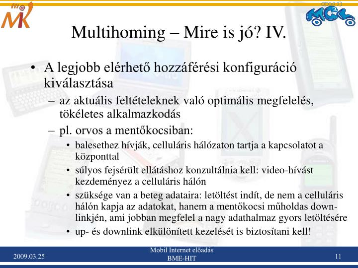Multihoming – Mire is jó? IV.