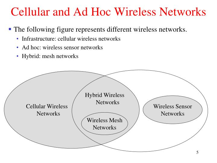 Cellular and Ad Hoc Wireless Networks