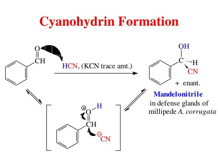 Cyanohydrin Formation