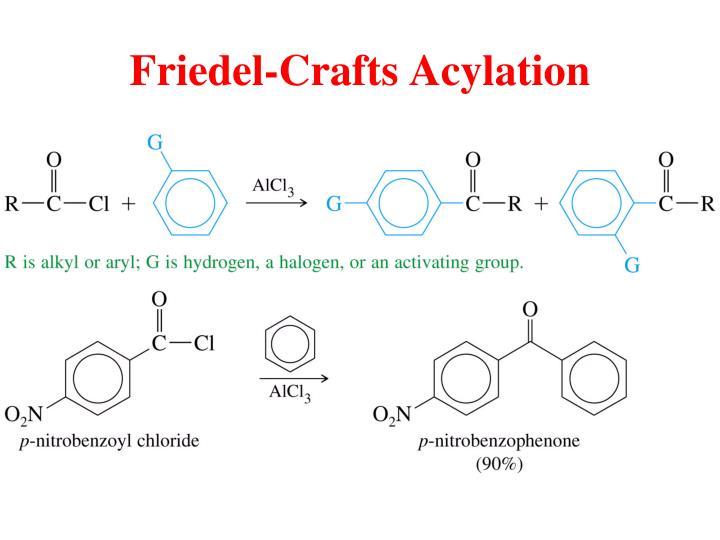 Friedel-Crafts Acylation