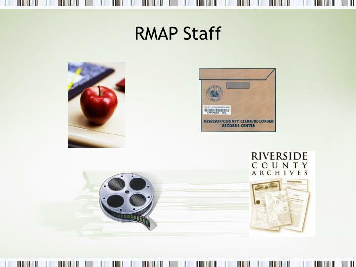 RMAP Staff