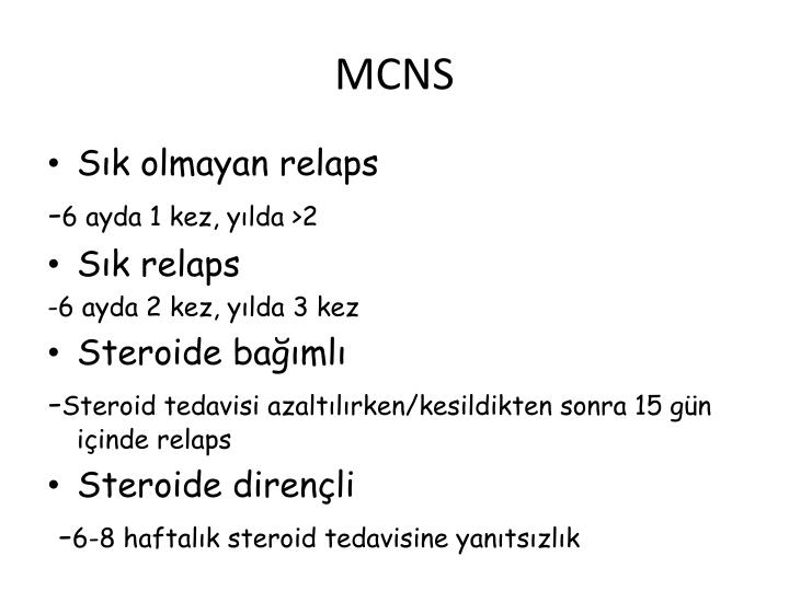 MCNS