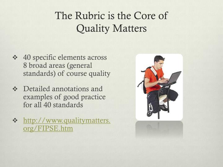 The Rubric is the Core of
