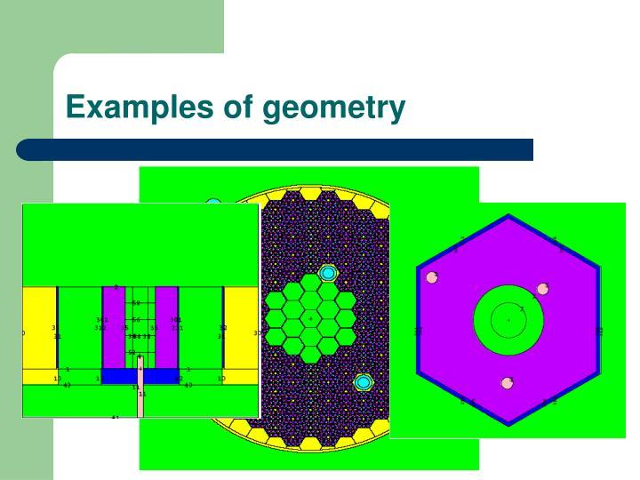 Examples of geometry