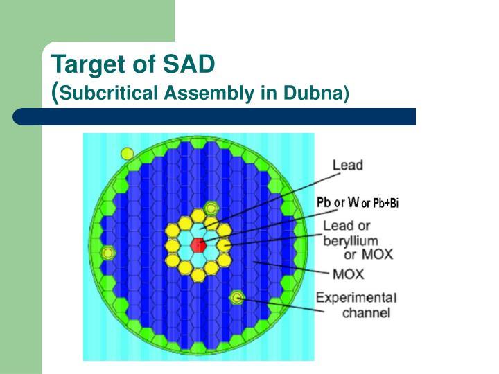 Target of SAD