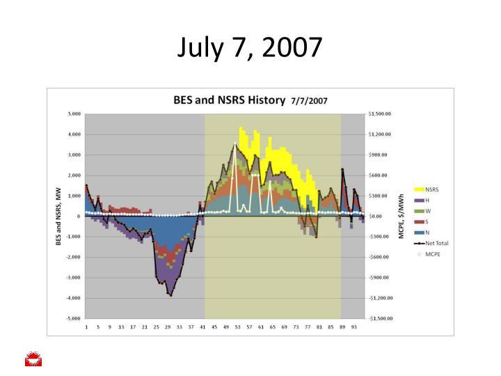 July 7, 2007