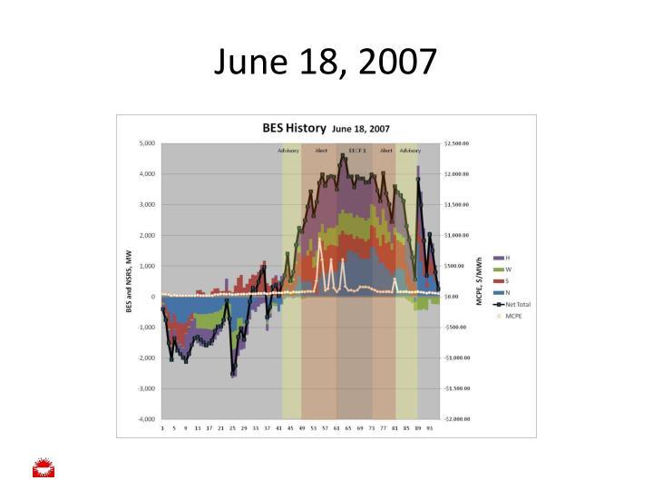 June 18, 2007