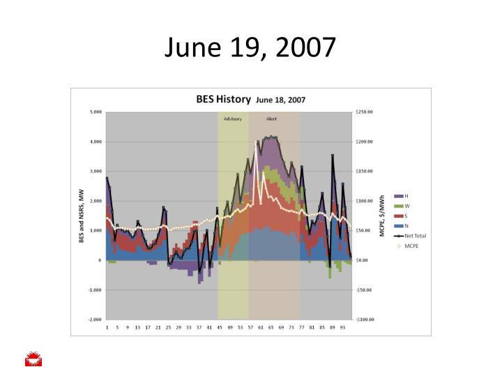 June 19, 2007