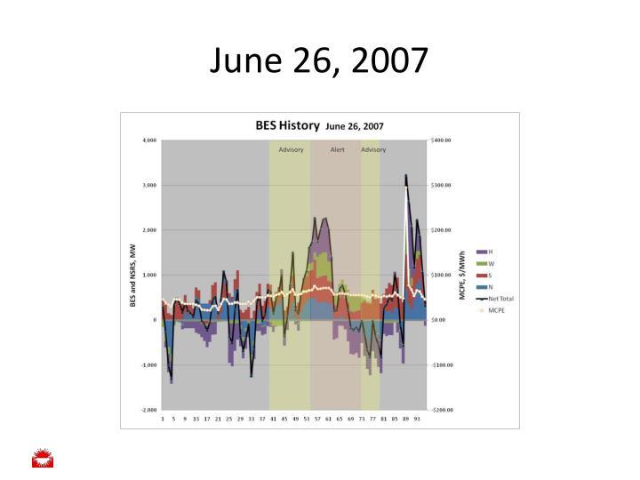 June 26, 2007