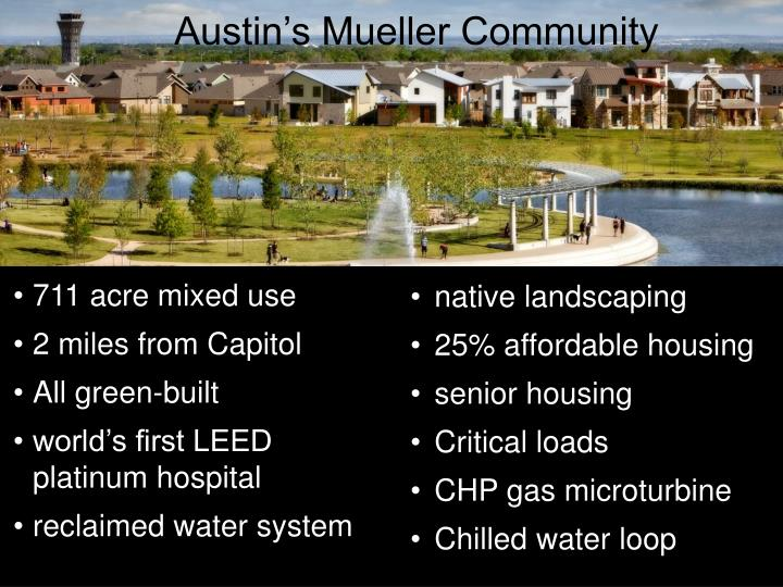 Austin's Mueller Community
