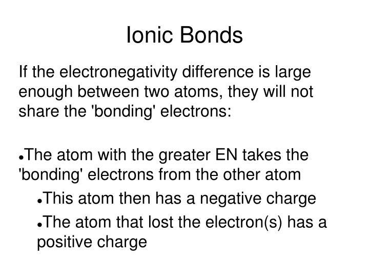 how to tell polar bonds thru electronegativity