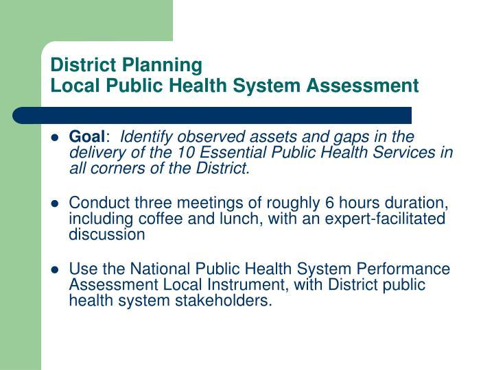 District Planning