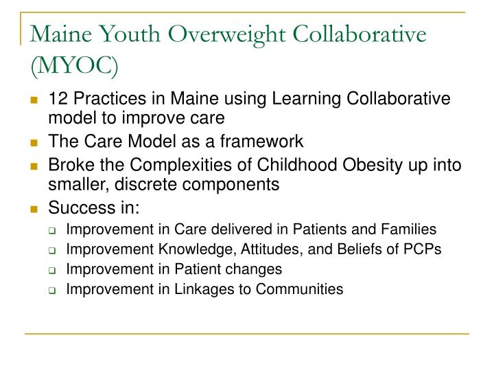 Maine Youth Overweight Collaborative