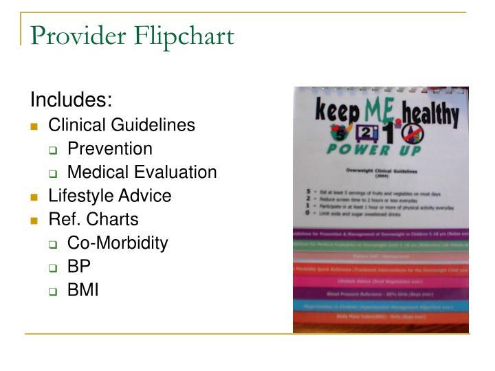 Provider Flipchart
