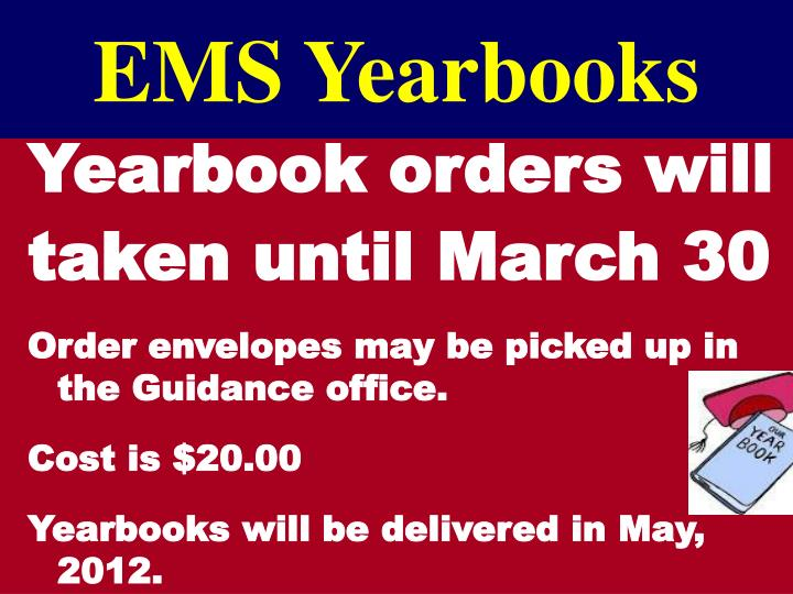 EMS Yearbooks