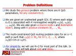 problem definitions1