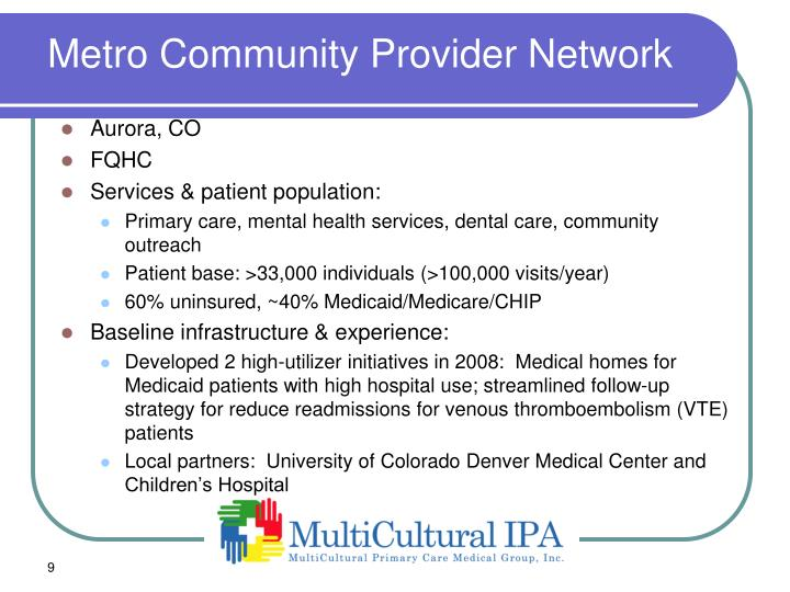 Metro Community Provider Network