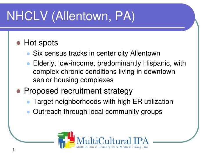 NHCLV (Allentown, PA)