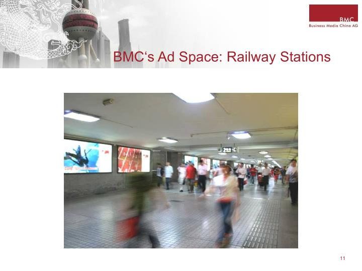 BMC's Ad Space: Railway Stations