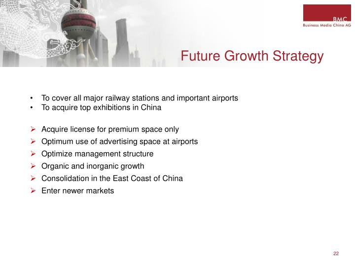 Future Growth Strategy