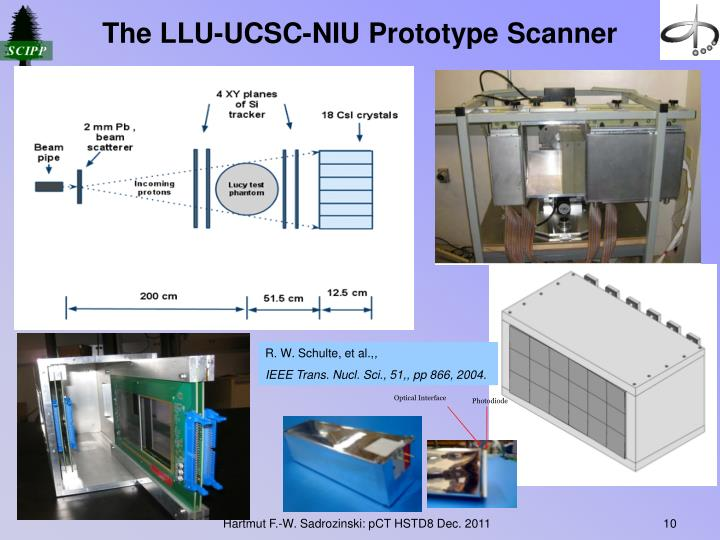 The LLU-UCSC-NIU Prototype Scanner