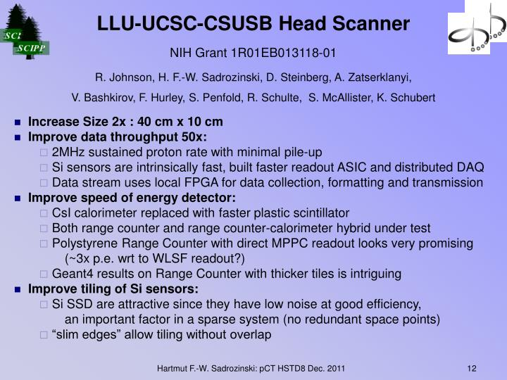 LLU-UCSC-CSUSB Head Scanner