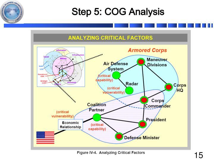 Step 5: COG Analysis