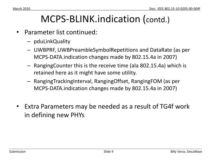 MCPS-BLINK.indication (