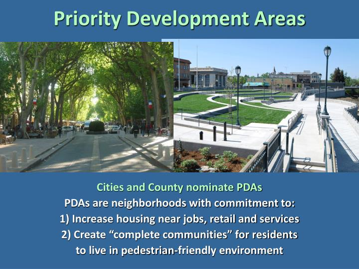 Priority Development Areas