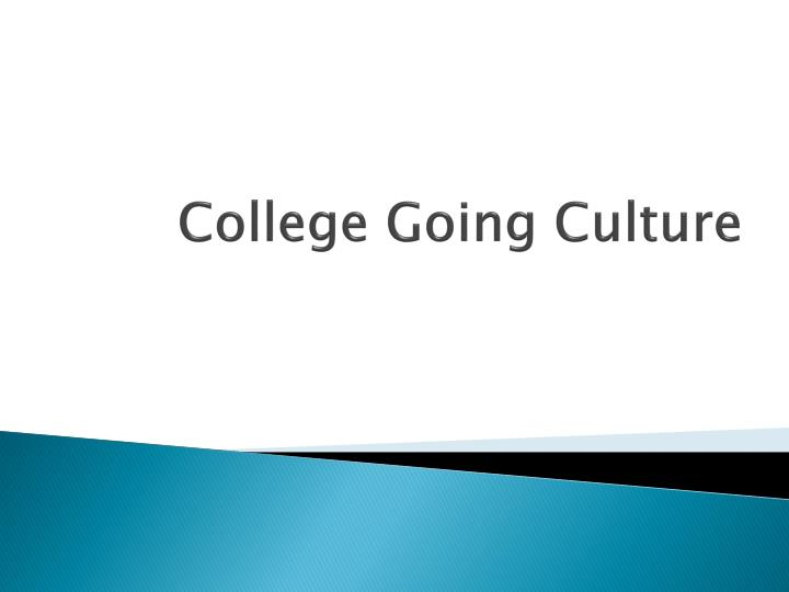 College Going Culture