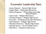 counselor leadership team