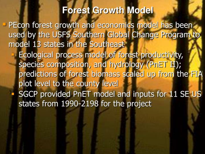 Forest Growth Model