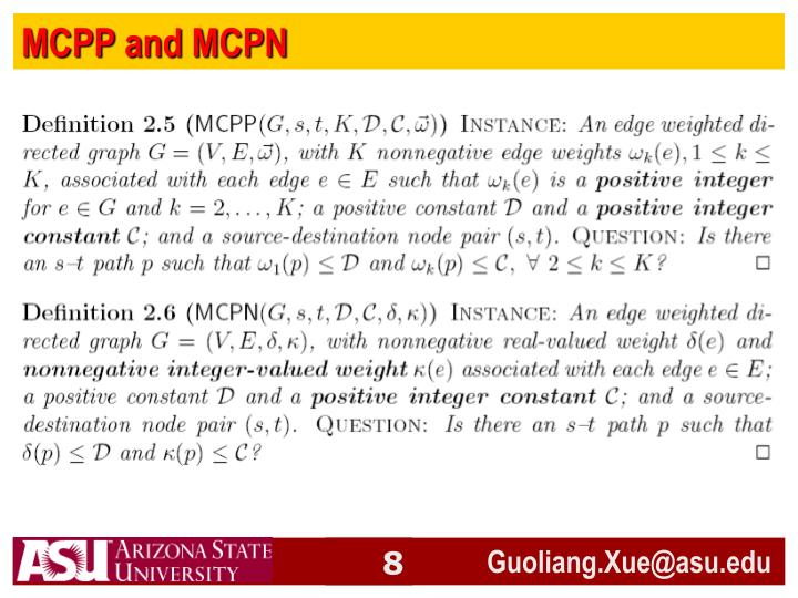 MCPP and MCPN