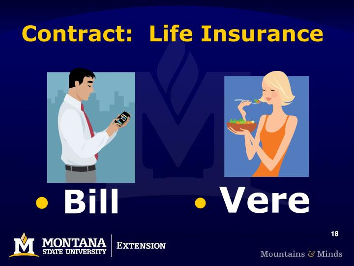 Contract:  Life Insurance