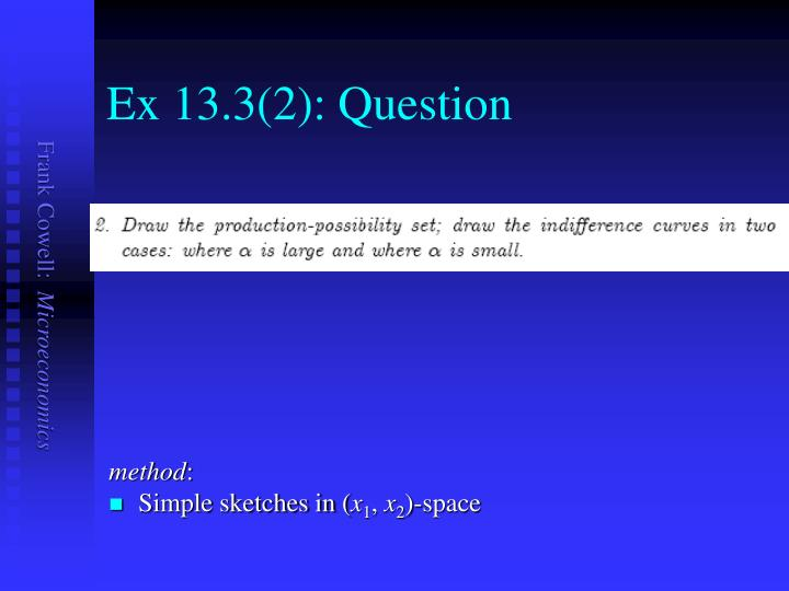 Ex 13.3(2): Question