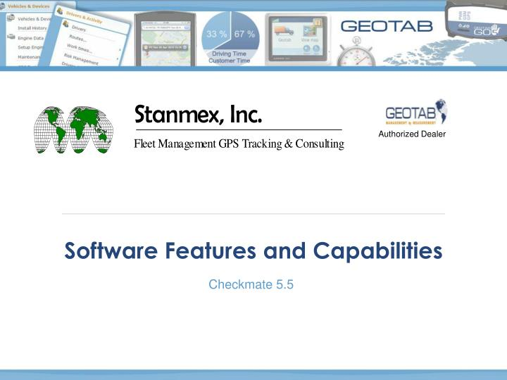 software features and capabilities