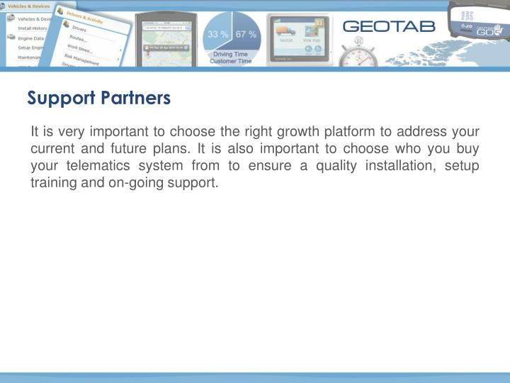 Support Partners