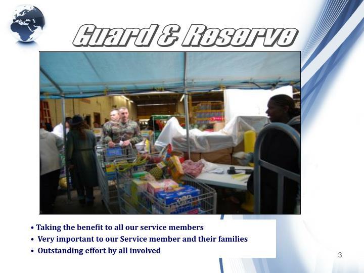 Guard & Reserve