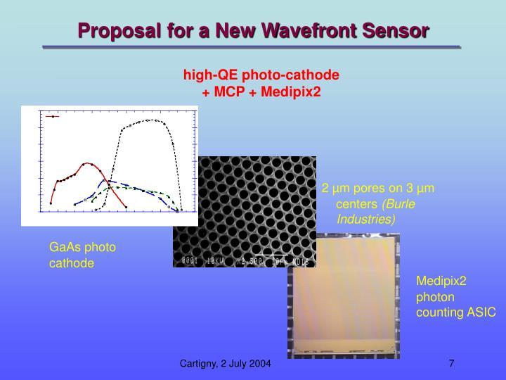 Proposal for a New Wavefront Sensor