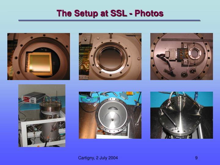 The Setup at SSL - Photos